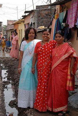 Three-women-in-slum